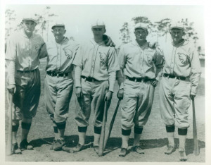 ... easy. Looks like 1927 spring training. Only year Wheat was on team