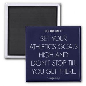 Athletics #Quote 1: Goals for Success #Magnet