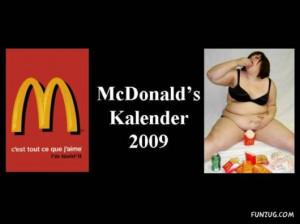 McDonald's 2009 Kalender