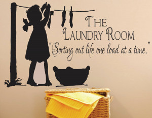 Laundry SignThe Laundry Room Decal Sorting Out Life by SignJunkies