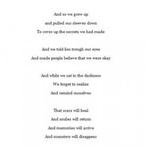 Cutting Poems Quotes Love quote happy depressed