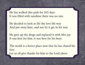 Year Anniversary Poems http://www.pic2fly.com/Sobriety+Anniversary ...