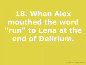 delirium #Delirium Series