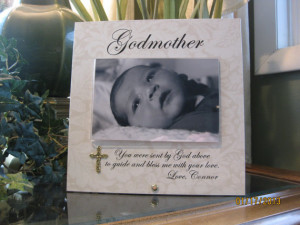 baptism card sayings godparents