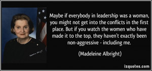 More Madeleine Albright Quotes