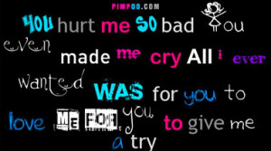 All Graphics » hurt me quotes