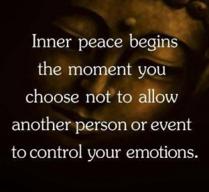 Inner peace and emotional freedom!