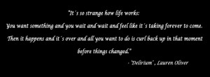 Delirium quotes