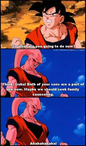 Dragon Ball Z Goku And Gohan Fusion Try to the dragon ball worms