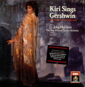 Kiri Te Kanawa, Kiri Sings Gershwin - Sealed, USA, Deleted, vinyl LP ...