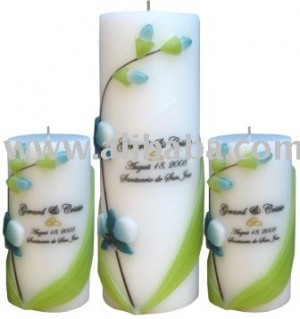 View Product Details: Wedding Unity Candles