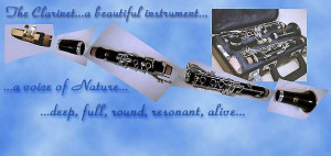 Clarinet Quotes My clarinet done on photoshop