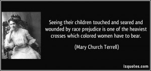 More Mary Church Terrell Quotes