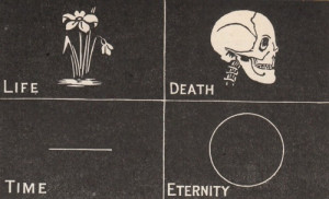 creepy, death, eternity, life, sad, secret, time