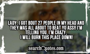 Madea Quotes Quotes & funny schtuff / madea