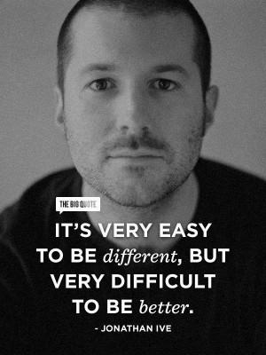 Jonathan Ive's quote