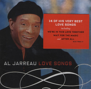 Al Jarreau Love Songs UK CD ALBUM 8122799410