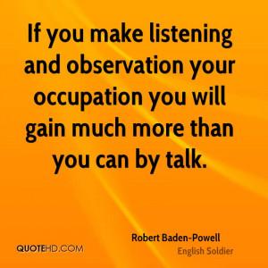 Robert Baden-Powell Quotes
