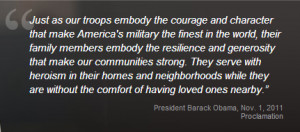 November, Military Family Appreciation Month is a time to honor ...