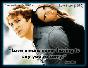 Love Story (1970) #1
