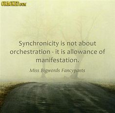 synchronicity quotes More
