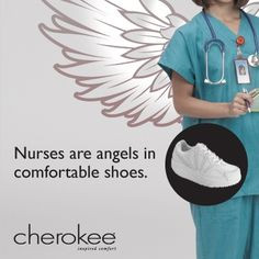 Nurses are angels in comfortable shoes. #Nurses #Quotes #Inspiration # ...