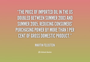 Quote Martin Feldstein The Price Of Imported Oil In 88342png