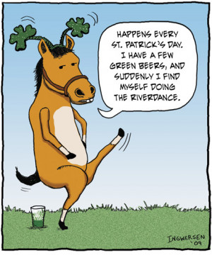 Here's how Angry Horse celebrated St. Patrick's Day last year on ...