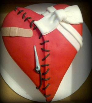Open heart surgery cake to celebrate his surgery date! So cute! 14 yrs ...