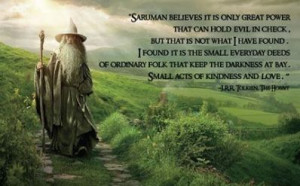 The Hobbit-loved this movie :)