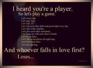 Love game quote