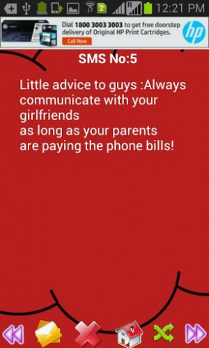 ... extensive collection of Advice SMS. Famous Life quotes about Advice