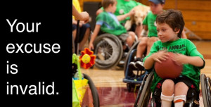 Australian disability activist confined to wheelchair says disabled ...