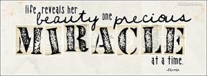 Precious Miracle Facebook Cover