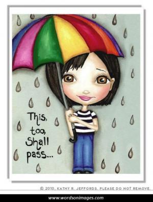 Rainy days quotes