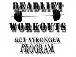 Deadlift Workout Routine