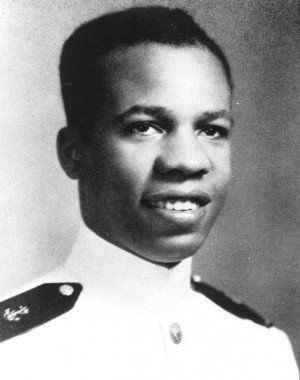 Wesley A. Brown, a retired Navy lieutenant commander who made history ...