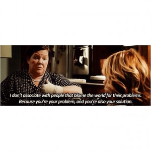 Bridesmaids quote....I love Melissa McCarthy....I wish she could be my ...
