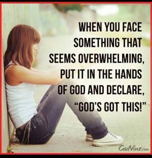 God's got this!