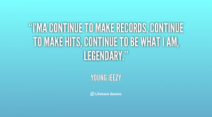 ma continue to make records, continue to make hits, continue to be ...
