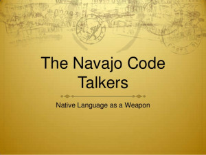 Navajo Code Talker Quotes