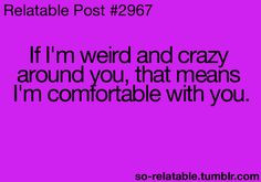 crazy friends quotes   quote quotes weird friends crazy friend relate ...