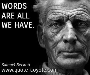 """... is de première van de nieuwe SUUS-productie """" 3x Beckett"""