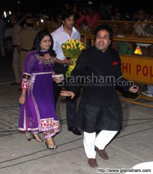 Rajeev Shukla at Saif-Kareena wedding reception Pataudi Palace Delhi ...