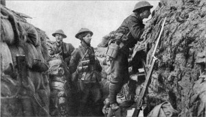 attackers because the trenches and the terrain favoured the defenders