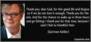 More Garrison Keillor Quotes