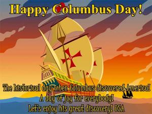 Happy Columbus Day Quotes