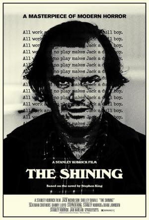 The Shining - Stanley Kubrick - Jack Nicholson , Shelley Duvall , 1980