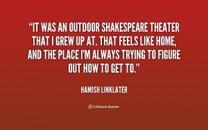 Shakespeare Quotes About Theatre