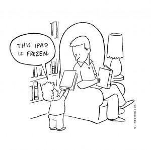 Humor: My iPad is Frozen